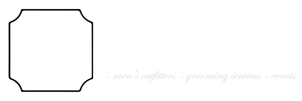 Gentleman's Cooperative logo for custom suits, garments, grooming, and events